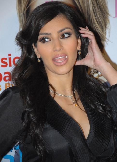 Kim Kardashian Deals with Psoriasis